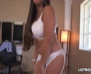 Phat ass milf Mercedes Carrera good office frig