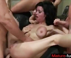 She is from MATURE-FUCKS.COM - Sex Slave Training milf Veronica Avluv
