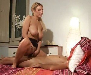 NastyPlace.org - Superhot and Busty Italian Mom seducing son