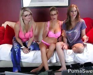Big Titty MILFS on Cam!! Puma, Vicky & Julia!!