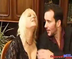 Mature French MILF Fucked Anal and Squirting Pussy Juice