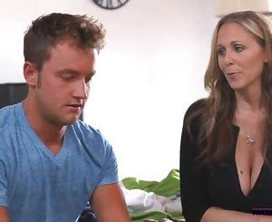 MomsTeachSex Young couple fucks hot mom