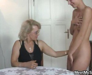 The girlfriend fucks his whole family