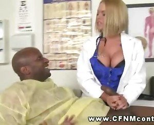 Sexy nurses sucking black cock and cant get enough