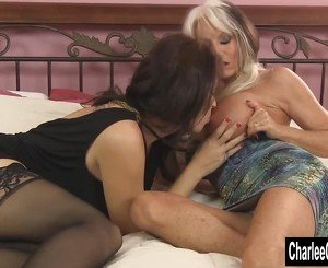 Charlee Chase Shares a Cock