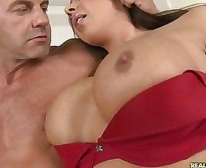 Two gorgeous MILFs share one meaty hard dong